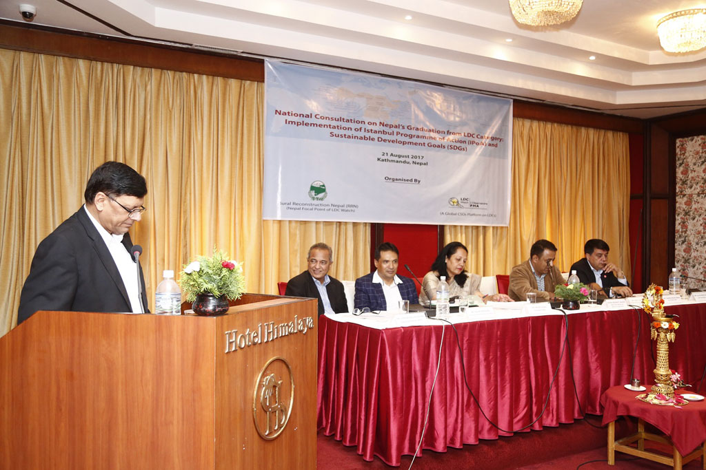 National Consultation on Nepal's Graduation